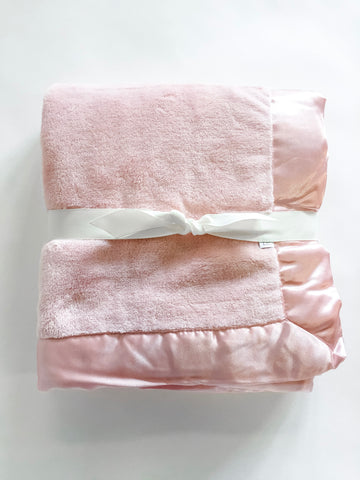 Pink Coral Fleece Blanket