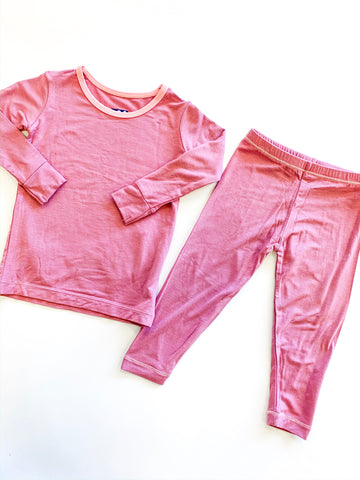 Long Sleeve PJ Set - Pegasus with Lotus
