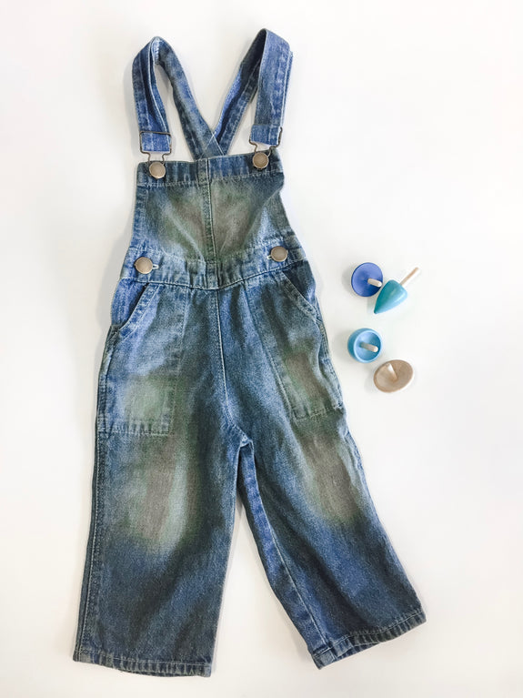 Overalls - Washed Denim