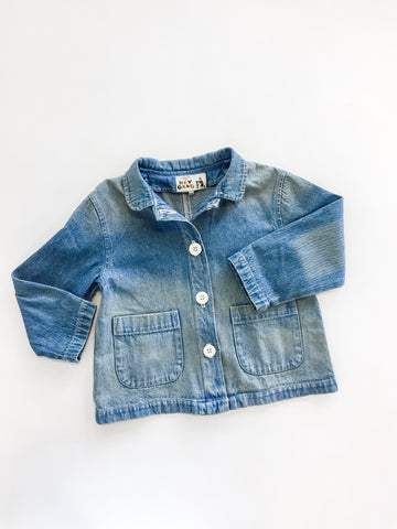 Chore Coat - Washed Denim