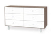 Merlin Six Drawer Dresser-Classic