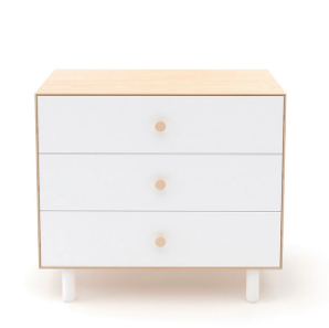 Merlin Three Drawer Dresser-Fawn