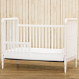 Liberty 3-in-1 Convertible Crib with Toddler Rail