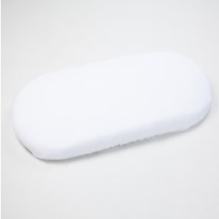Moba Moses Basket - Fitted Sheet - White
