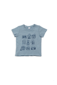 Damian Graphic Tee - Cloud