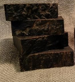Old Fashioned Pine Tar Soap with Tallow and Hemp