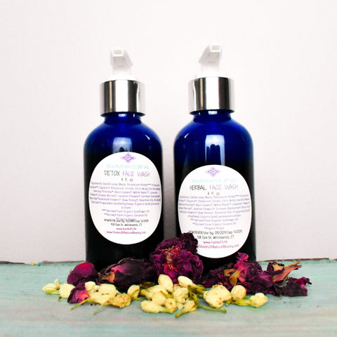 Herbal and Herbal Detox Face Washes