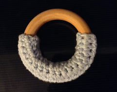 Teething Ring with Organic Fair Trade Cotton
