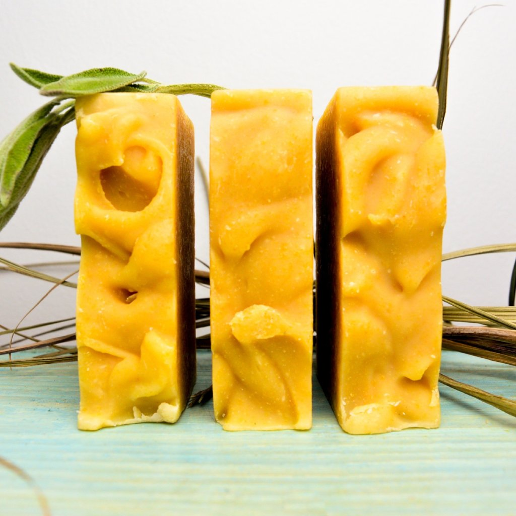 Sage Lemongrass Goat Milk Soap