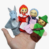 Finger Puppets Red Riding Hood