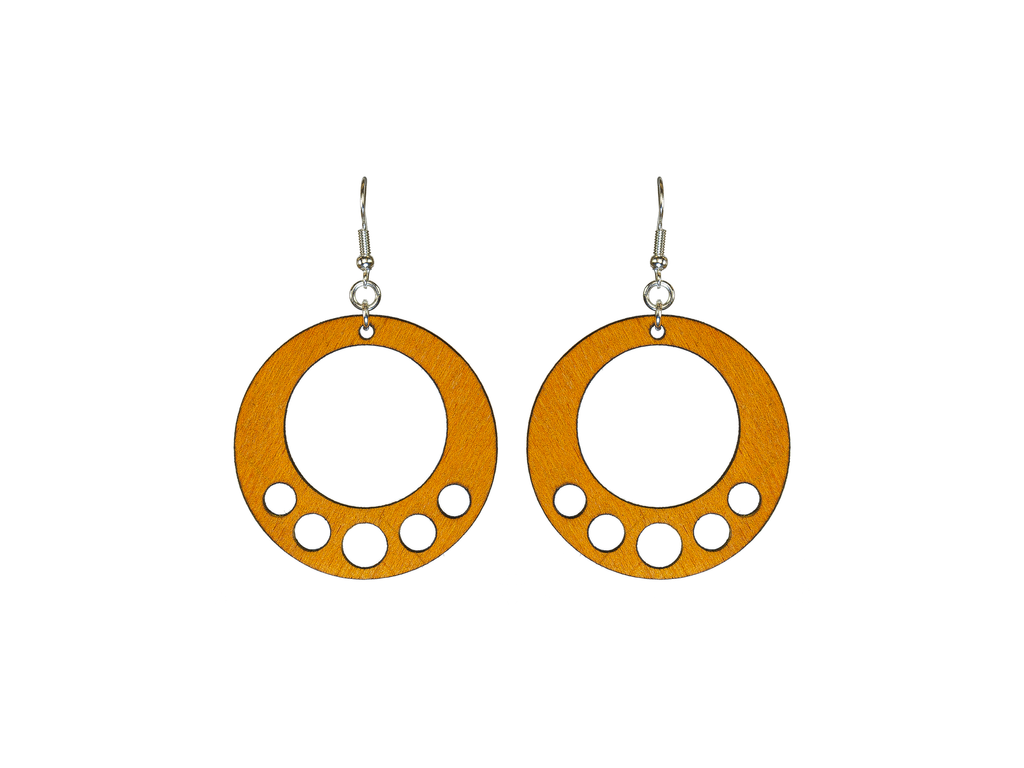 Crop Circle Earrings