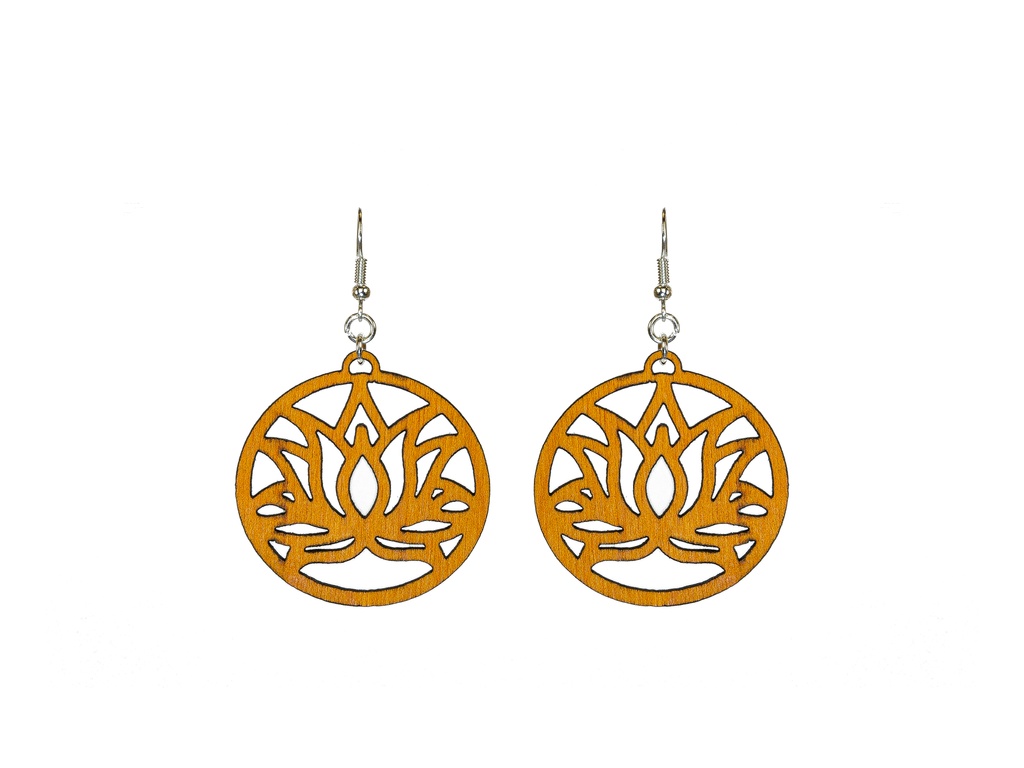 Sacred Lotus Earrings