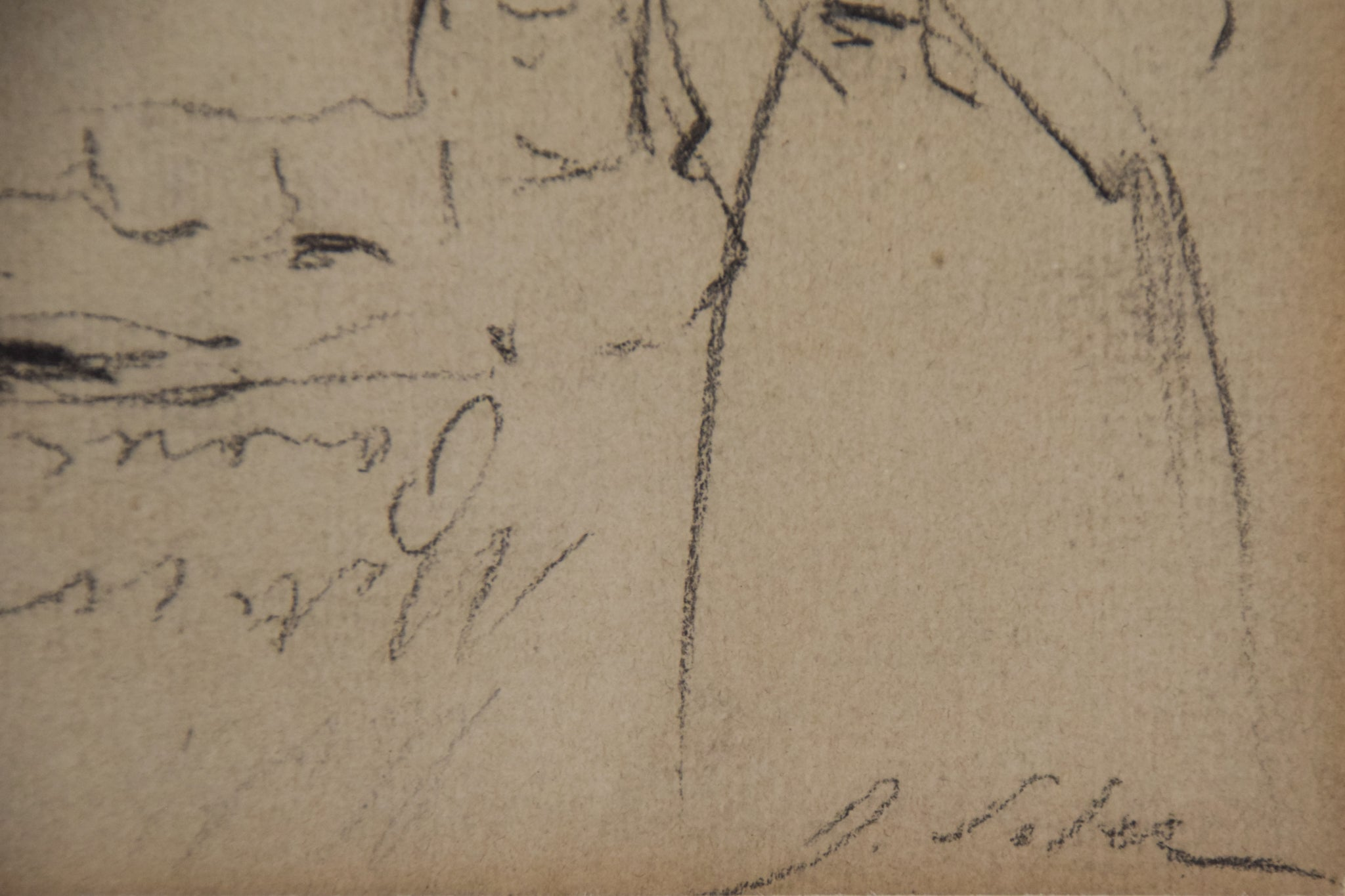 Double-sided sketches of Fin de siècle Ladies_Signature