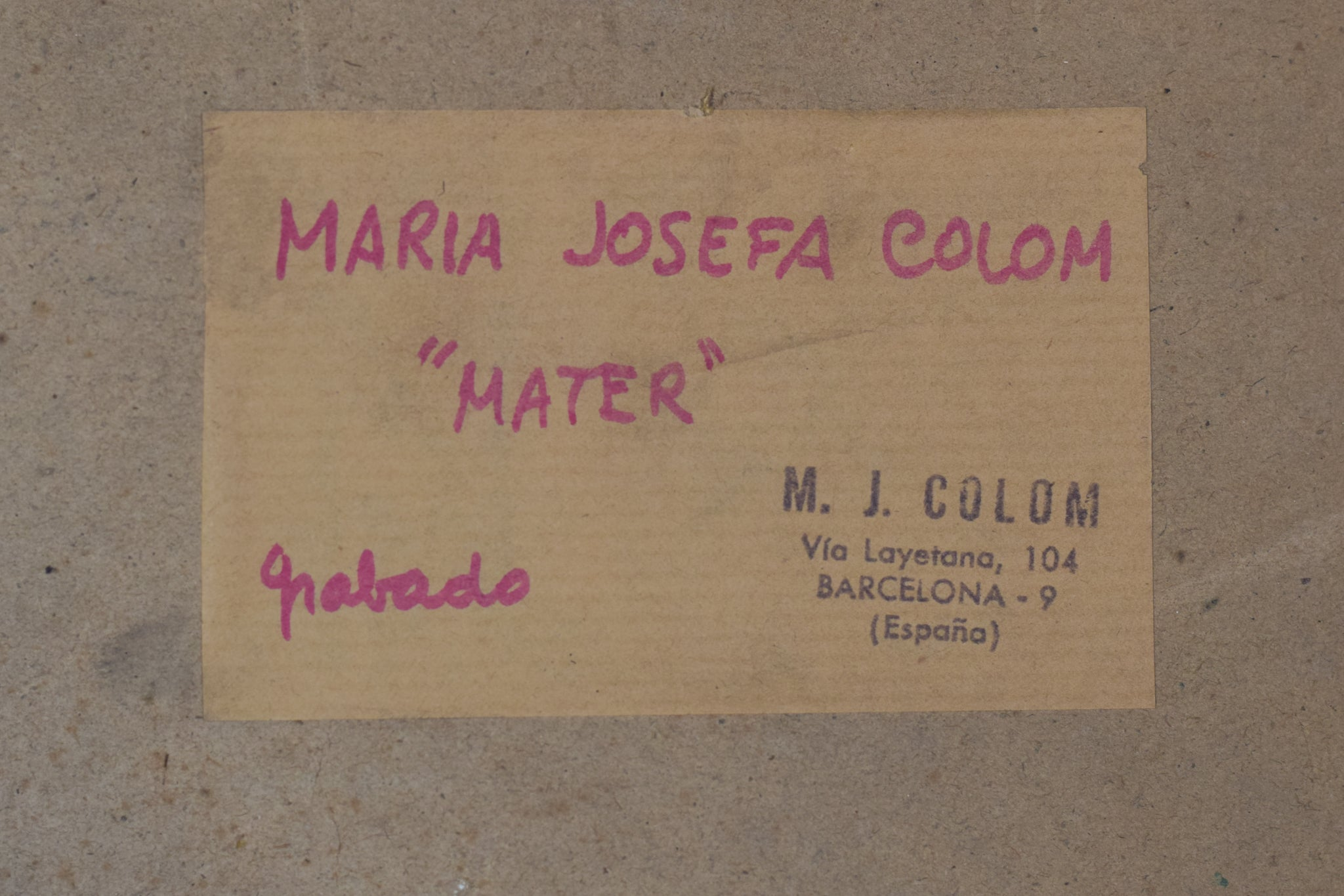 3 Lithographs with images of a Woman by Maria Josefa Colom