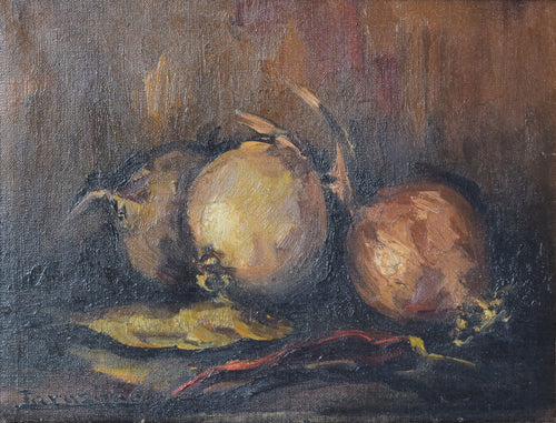 Still Life with Onions by Jarazana