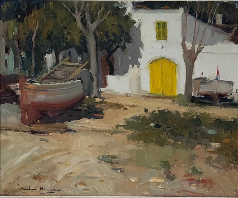 The Yellow Door by A. Sala Herrero