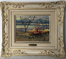 Load image into Gallery viewer, Spring Blossoms and Mountains_Framed