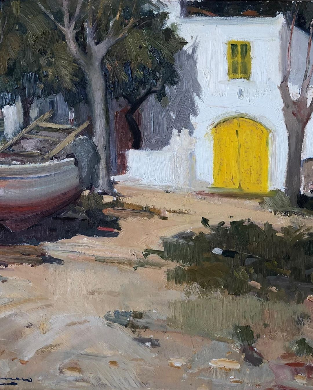 The Yellow Door by A. Sala Herrero_Detail