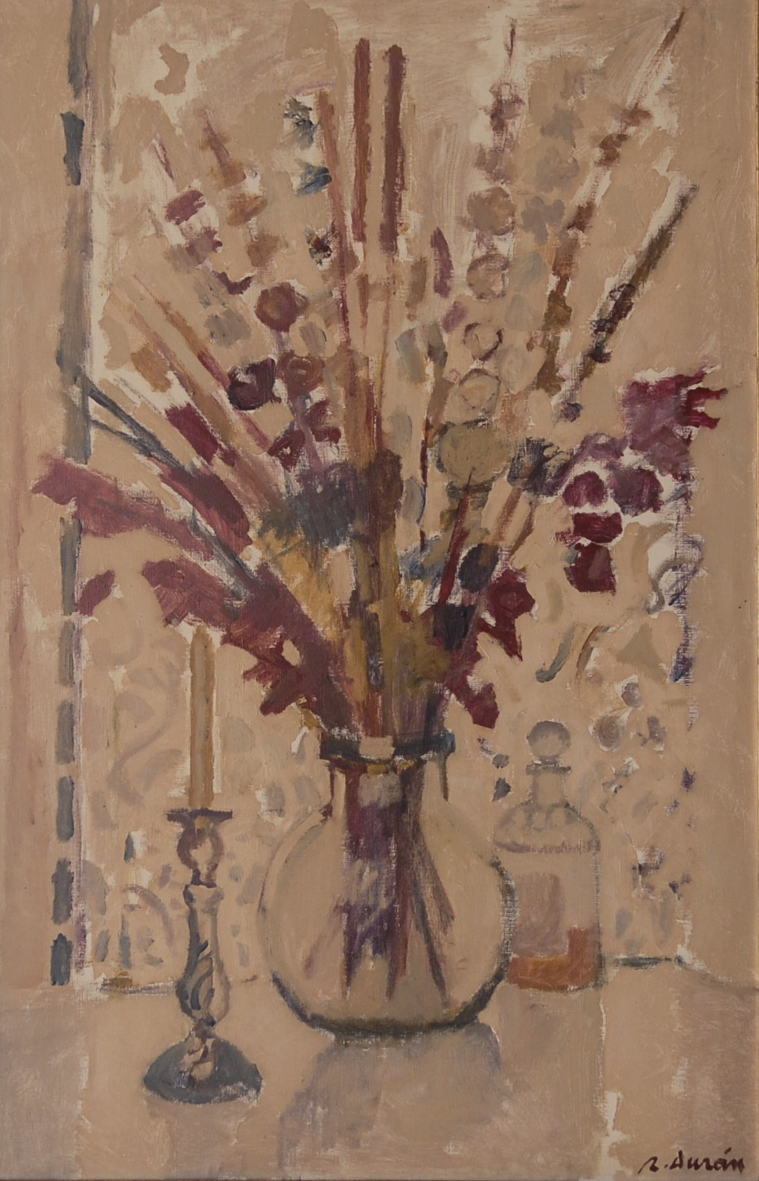 Flowers In A Vase by Rafael Duran