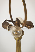 Load image into Gallery viewer, 19th-century Bronze Lamp Stand_Bulbs