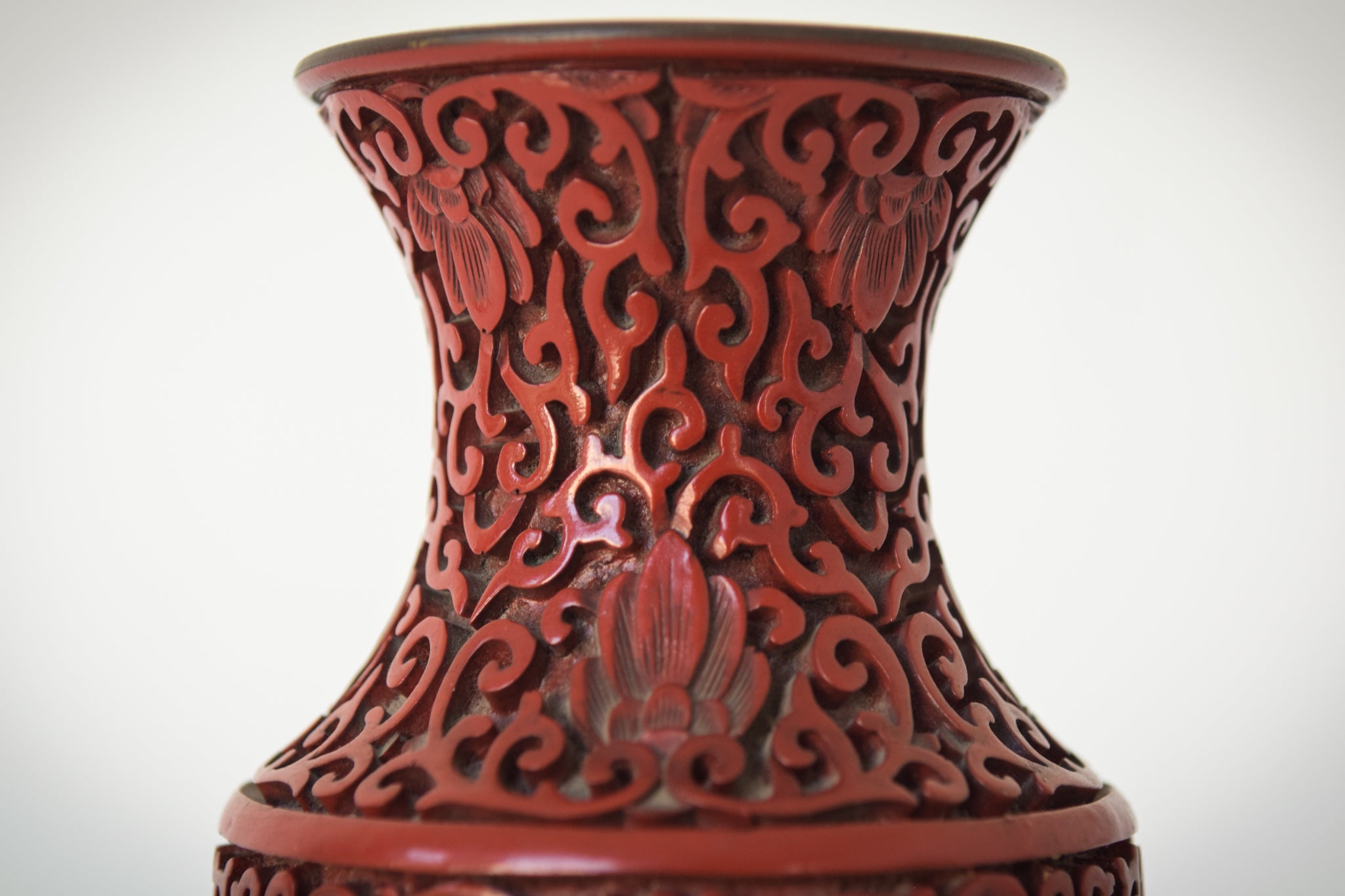 Chinese Lacquered Vase