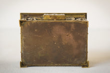 Load image into Gallery viewer, Early Art Nouveau Handmade Box in Brass and Silver_Base