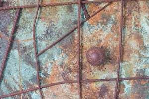 Abstract Assemblage with Iron Forms_Detail
