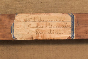 'Lady and Antique Dealer' Interior Scene_Label