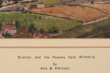 Load image into Gallery viewer, 'Bratton and Pewsey Vale, Wiltshire' by Amy Atkinson_Title