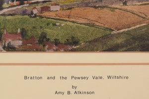 'Bratton and Pewsey Vale, Wiltshire' by Amy Atkinson_Title