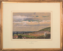 Load image into Gallery viewer, 'Bratton and Pewsey Vale, Wiltshire' by Amy Atkinson_Framed