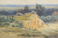 Load image into Gallery viewer, 'Rural Landscape' watercolour by James Edward Grace_Detail