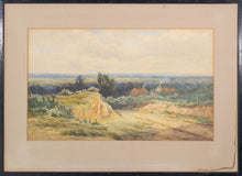Load image into Gallery viewer, 'Rural Landscape' watercolour by James Edward Grace_Framed