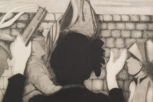 Load image into Gallery viewer, 'Sally Army' etching by Margaret Sheaff_Detail