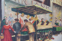 Load image into Gallery viewer, 'Market Day' - British Street Scene_Detail