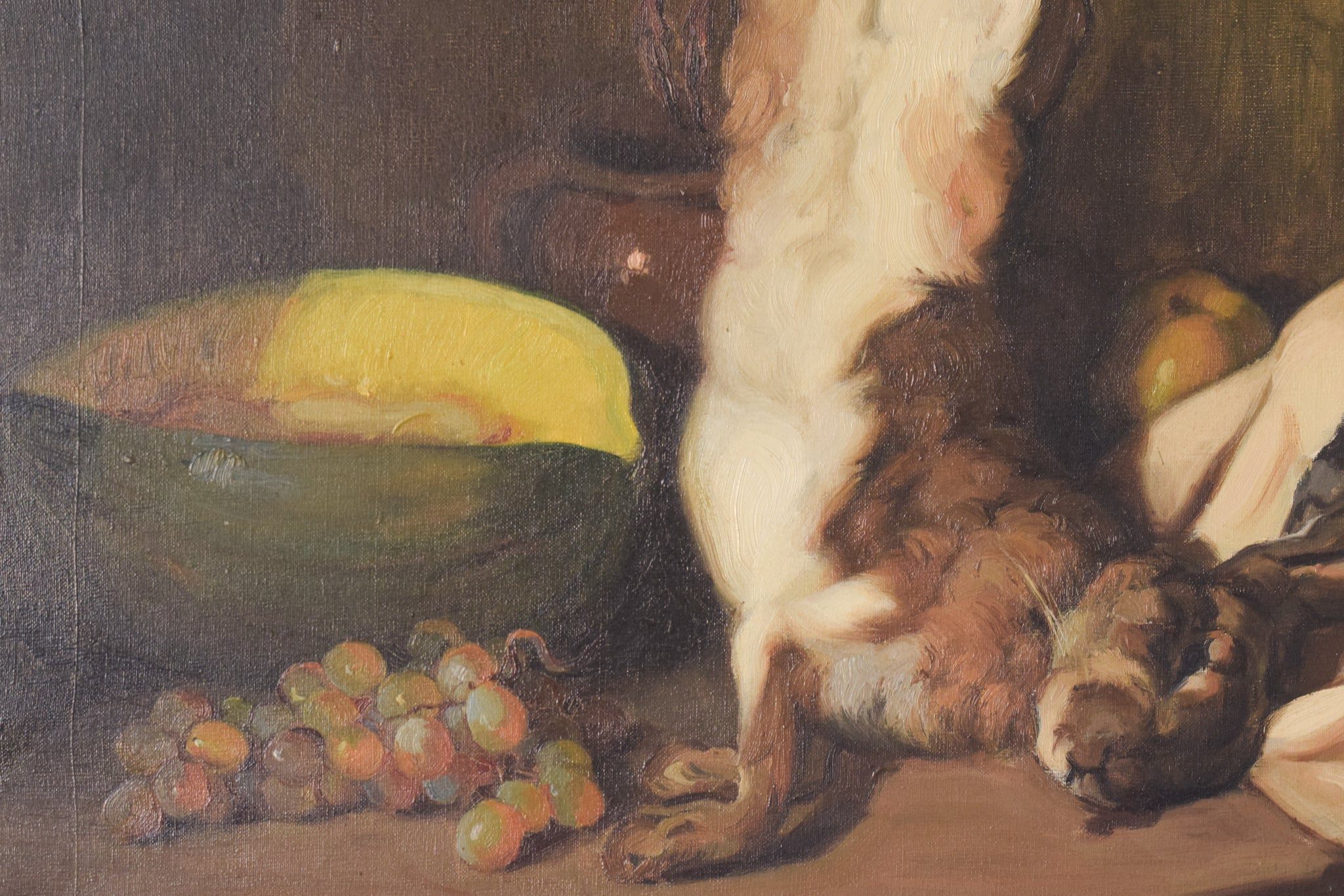 Still Life with Hare and Melon