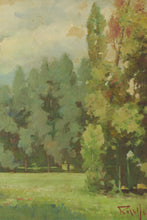 Load image into Gallery viewer, Oil Landscape with Trees