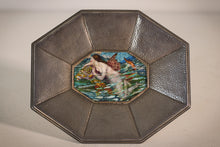 Load image into Gallery viewer, A Stunning Signed Arts & Crafts Enamel Mermaid Framed Plaque