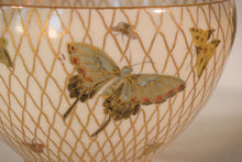 Load image into Gallery viewer, Two Satsuma Bowls with butterflies