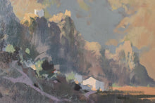 Load image into Gallery viewer, Mountain Landscape Oil