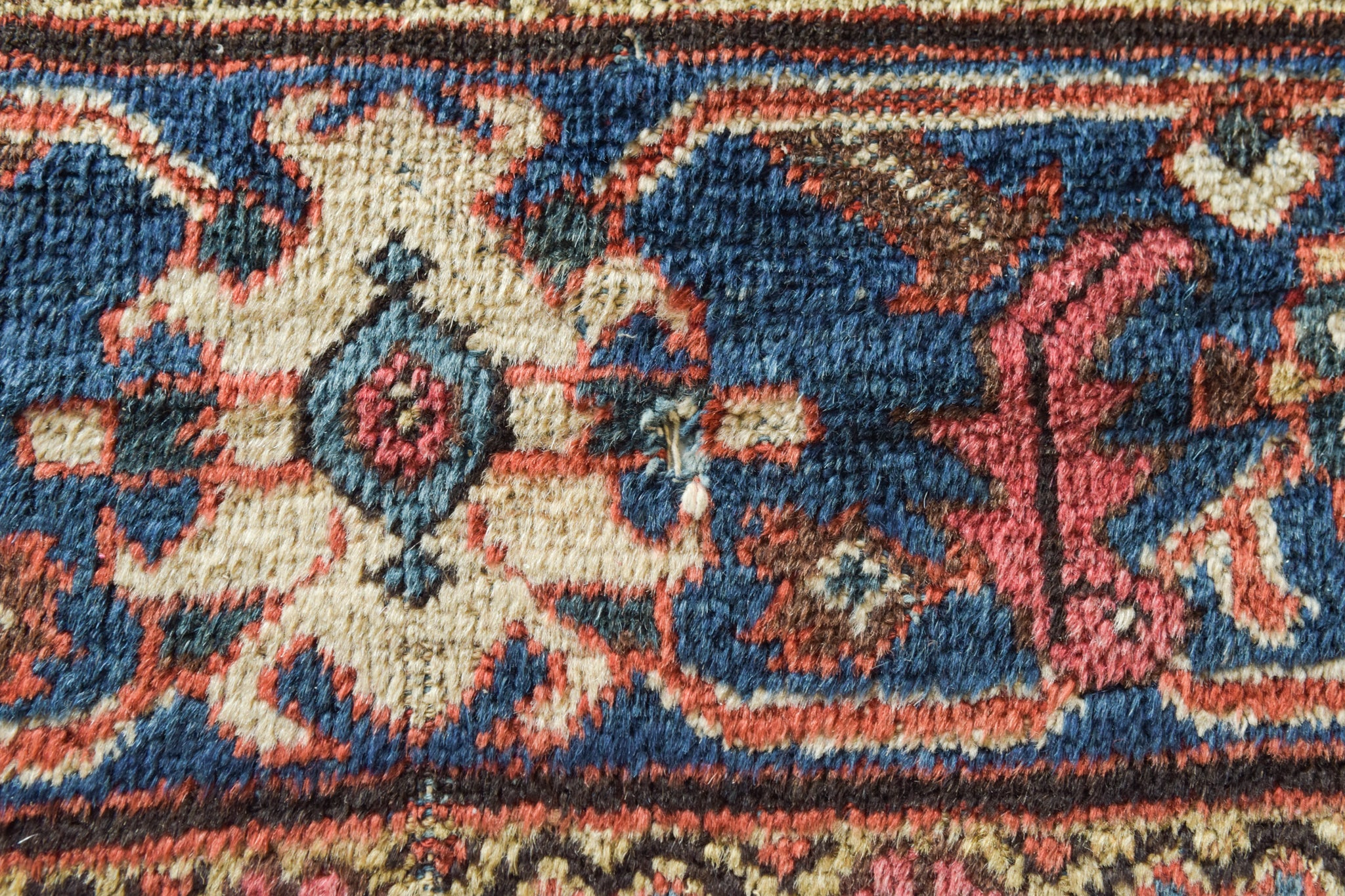 Large Handmade Antique Persian Rug