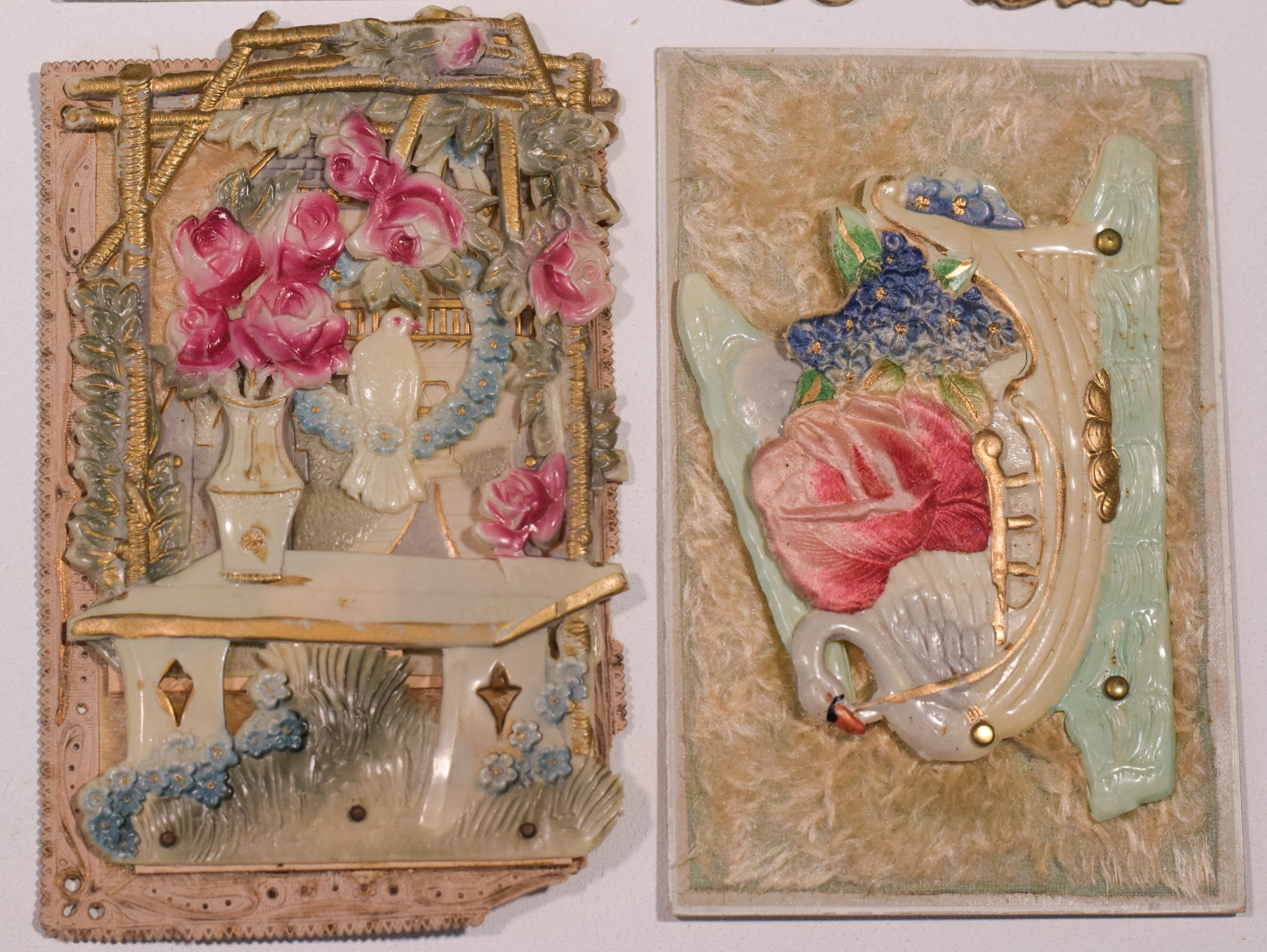 Rare Precious Collection of 36 victorian and later cards/postcards