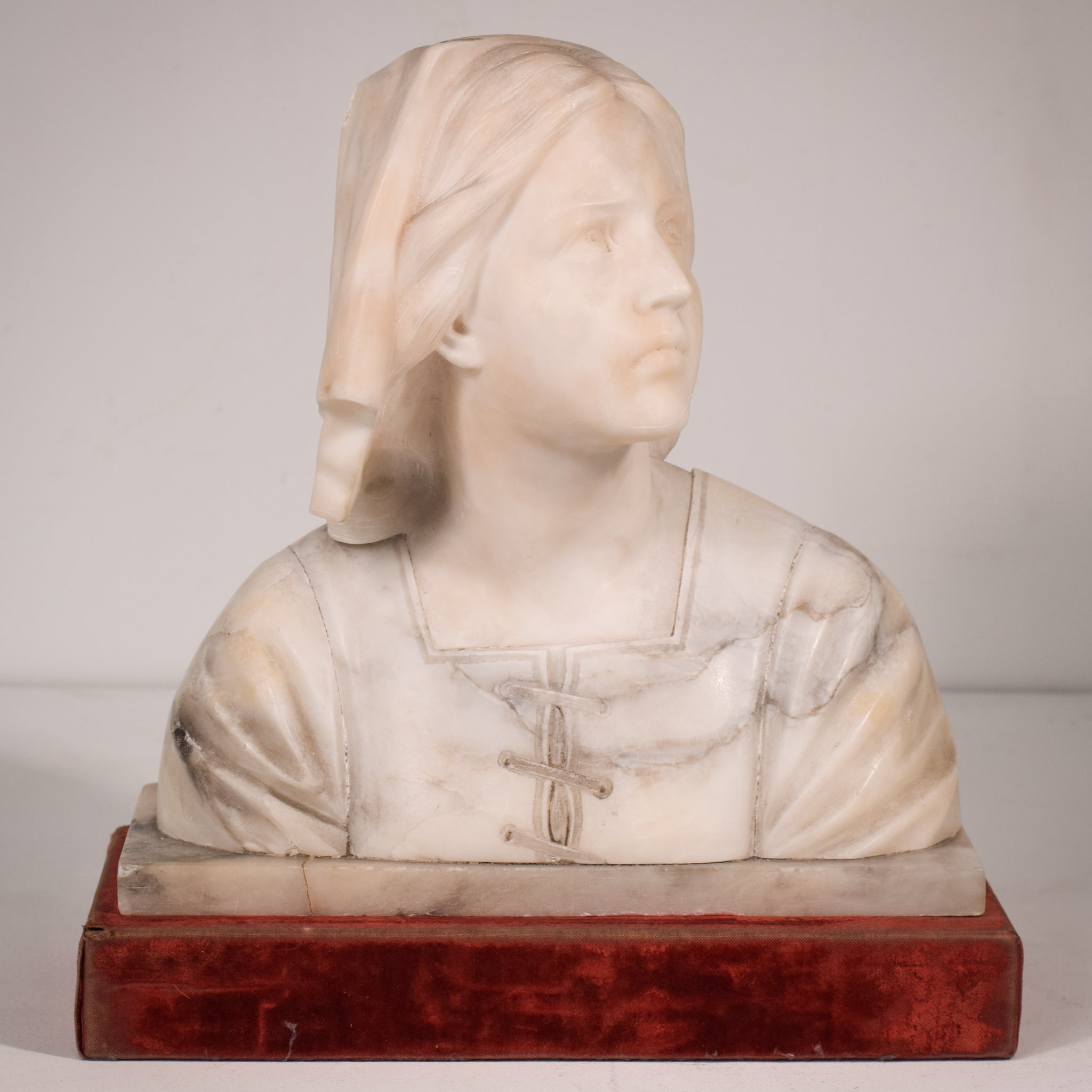 Marble Bust of a Lady
