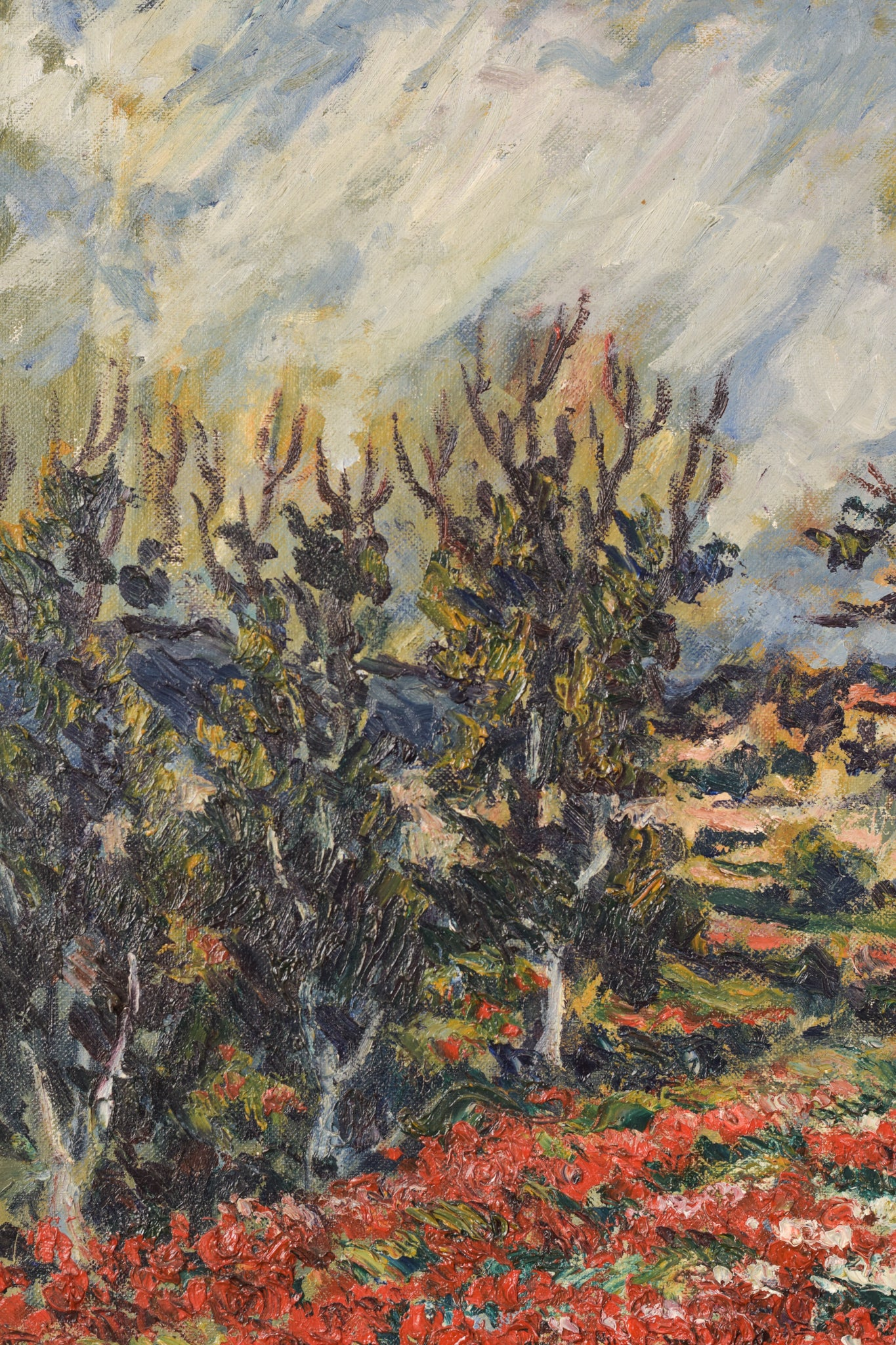 Oil Trees Painting (by Marc)