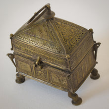 Load image into Gallery viewer, Brass Casket from Orissa