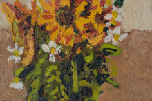 Load image into Gallery viewer, Still life with flowers, tea cup and jug_Detail 2