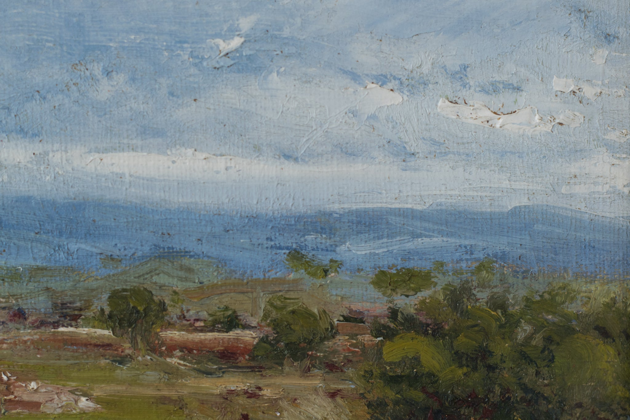 Landscape with a View of Mountains