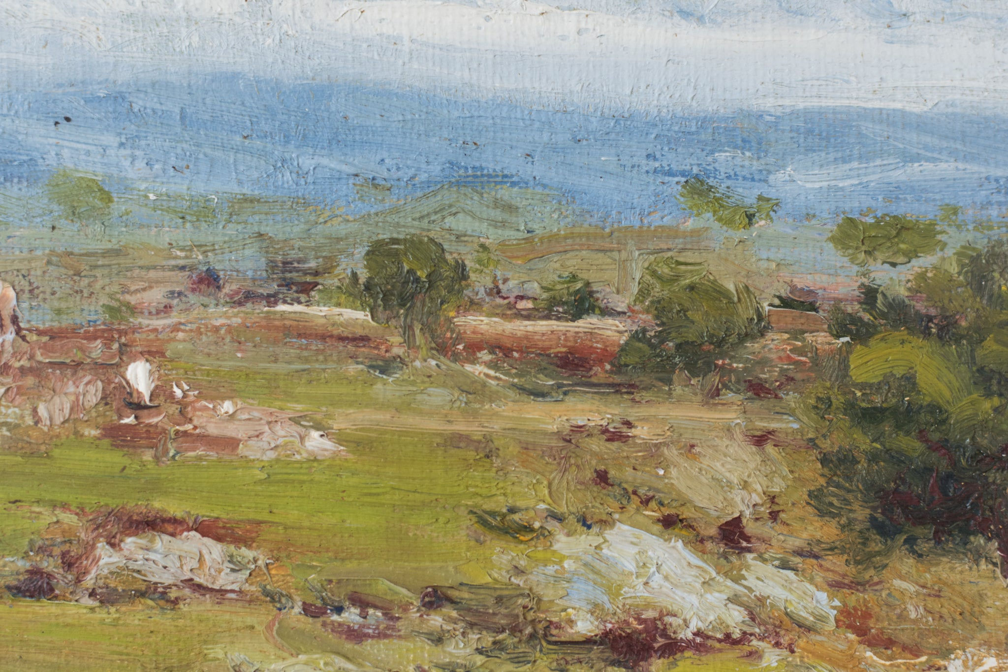 Landscape with a View of Mountains_Detail