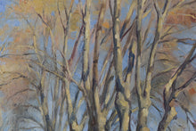 Load image into Gallery viewer, Impressionist Landscape with a Tree-lined Lane_Detail 2