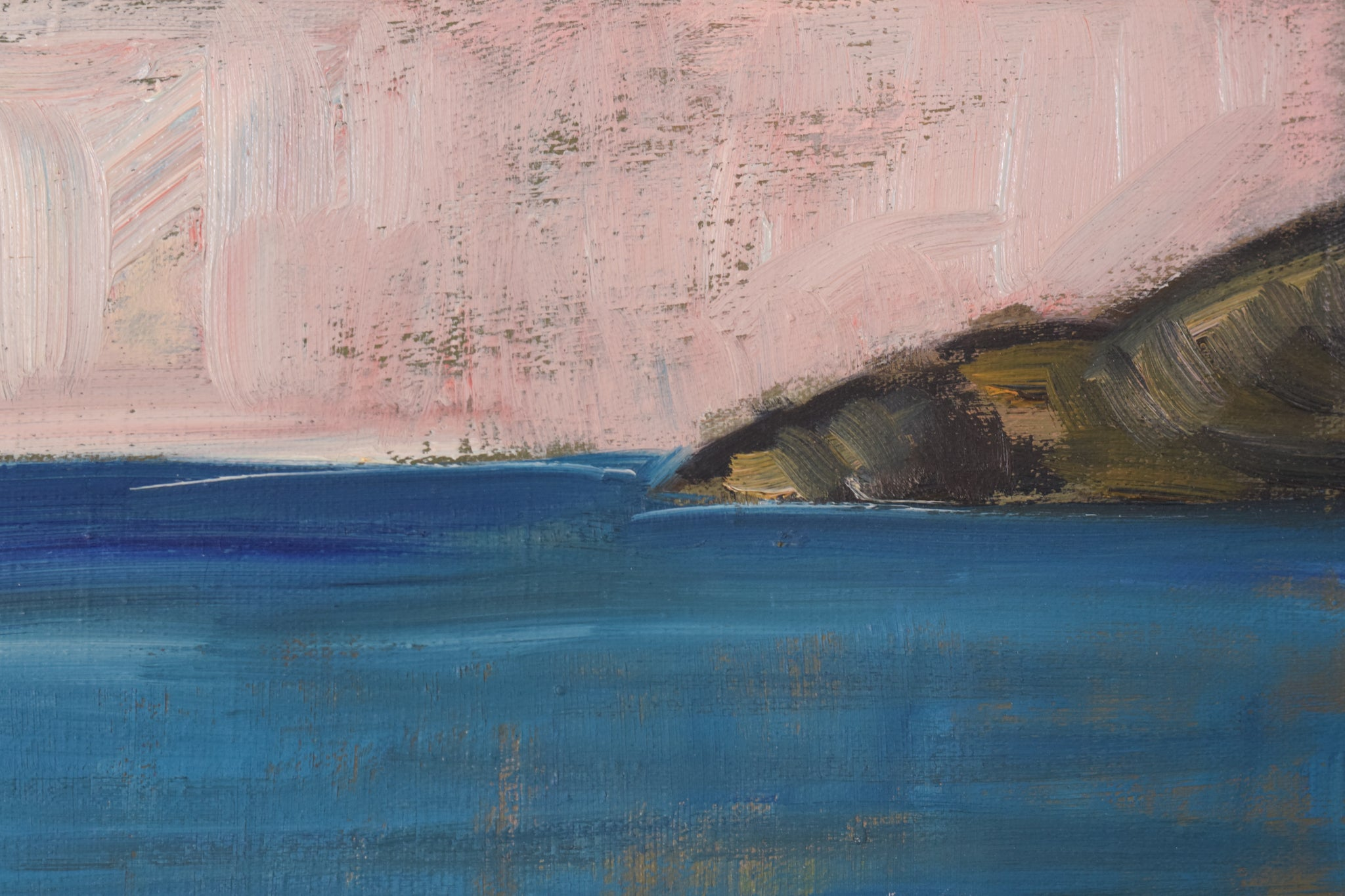 Seascape in a Post-Impressionist style_Detail 3